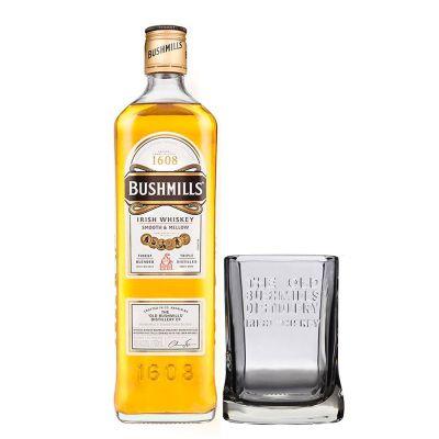 Whisky Bushmills Original 1,00 Litro 40º (R) + Vaso 1.00 L.