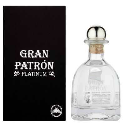 Tequila Patron Gran Platinum 0,70 Litros 40º (R) + Estuche 0.70 L.